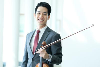 2018 IVCI Laureate Richard Lin's ISO debut with Christian Arming conducting