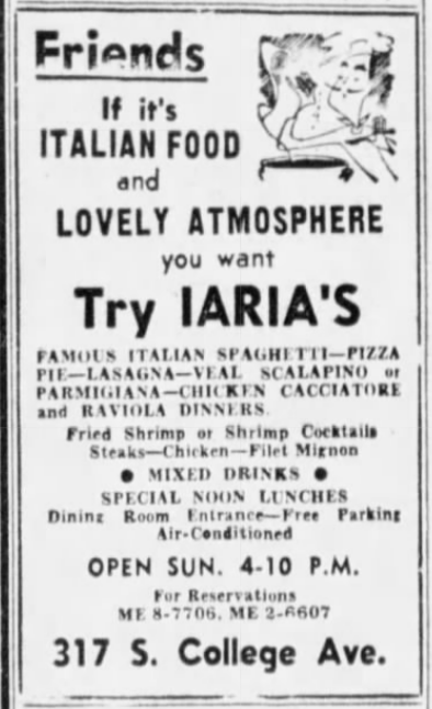Iaria's, Dec. 1955.png