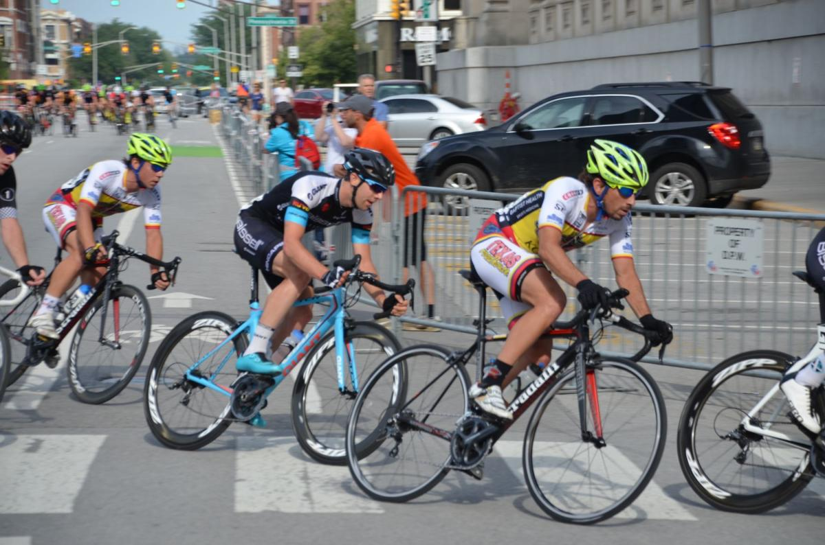 Indy Crit: Team NUVO takes first and second
