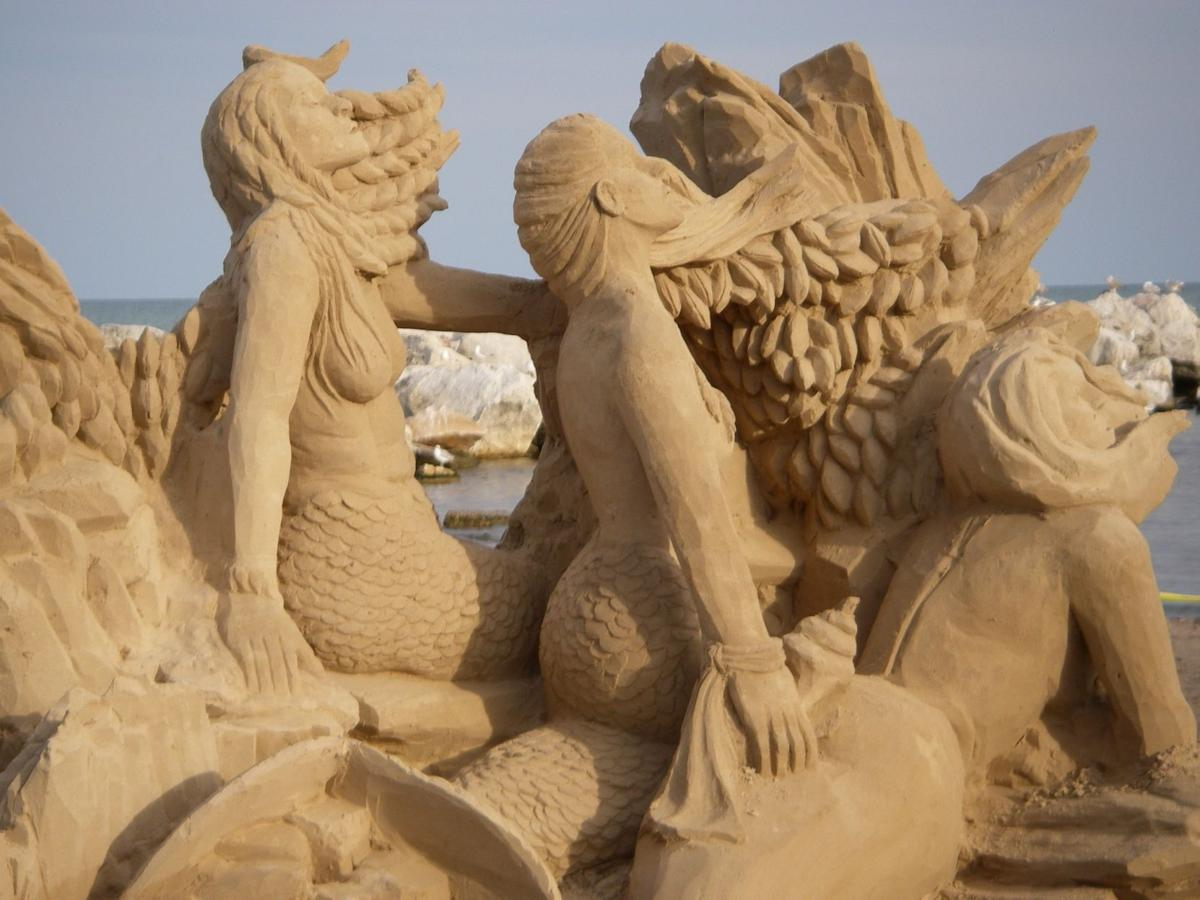 Sand sculpture at Garfield Park
