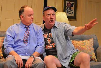 Review: The Odd Couple at Beef & Boards