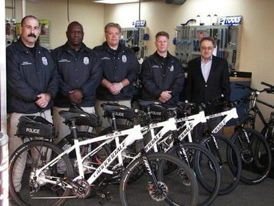 Indy police get five new bikes
