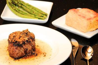 Grille 39: Surprisingly good hotel food