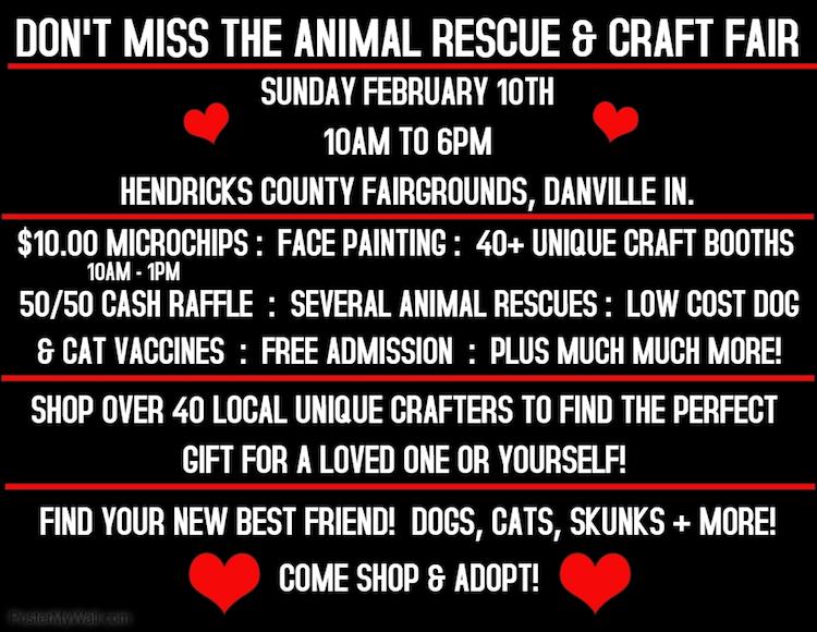 Animal Rescue & Craft Fair