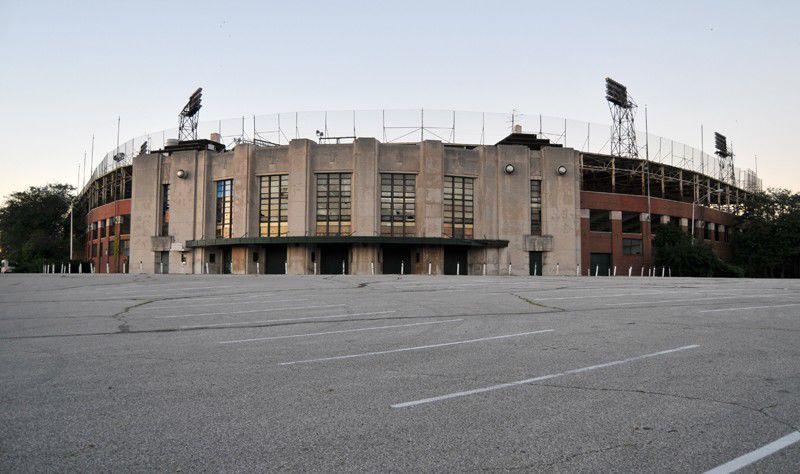 Photo Gallery: Bush Stadium Decays