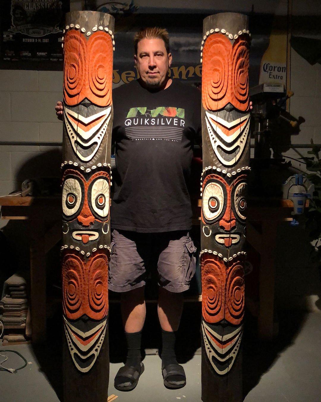 Dave Hansen Tikis Lake Tiki