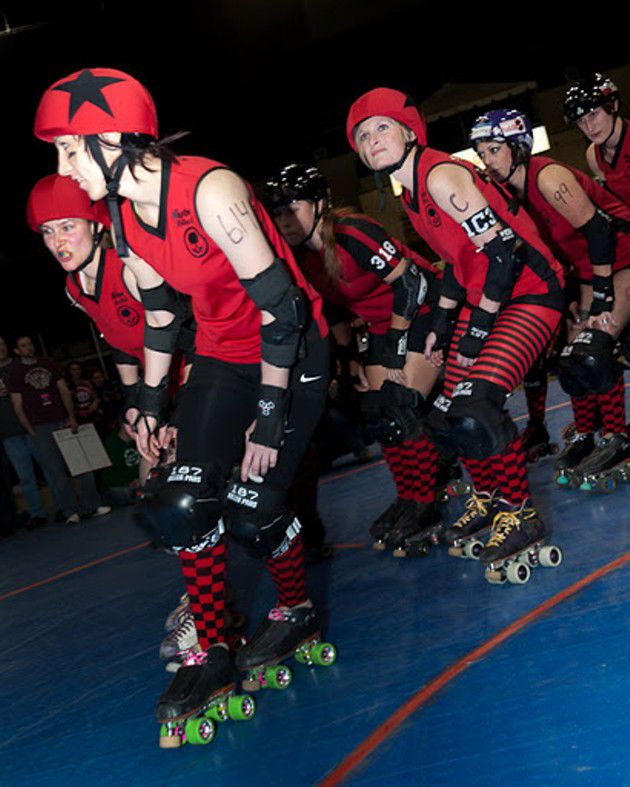 Slideshow: Naptown Roller Girls vs. Midwest MegaTeam