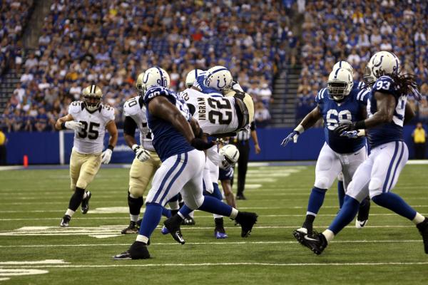 Colts V. Saints