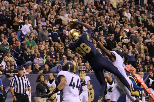 Slideshow: Notre Dame V. Purdue