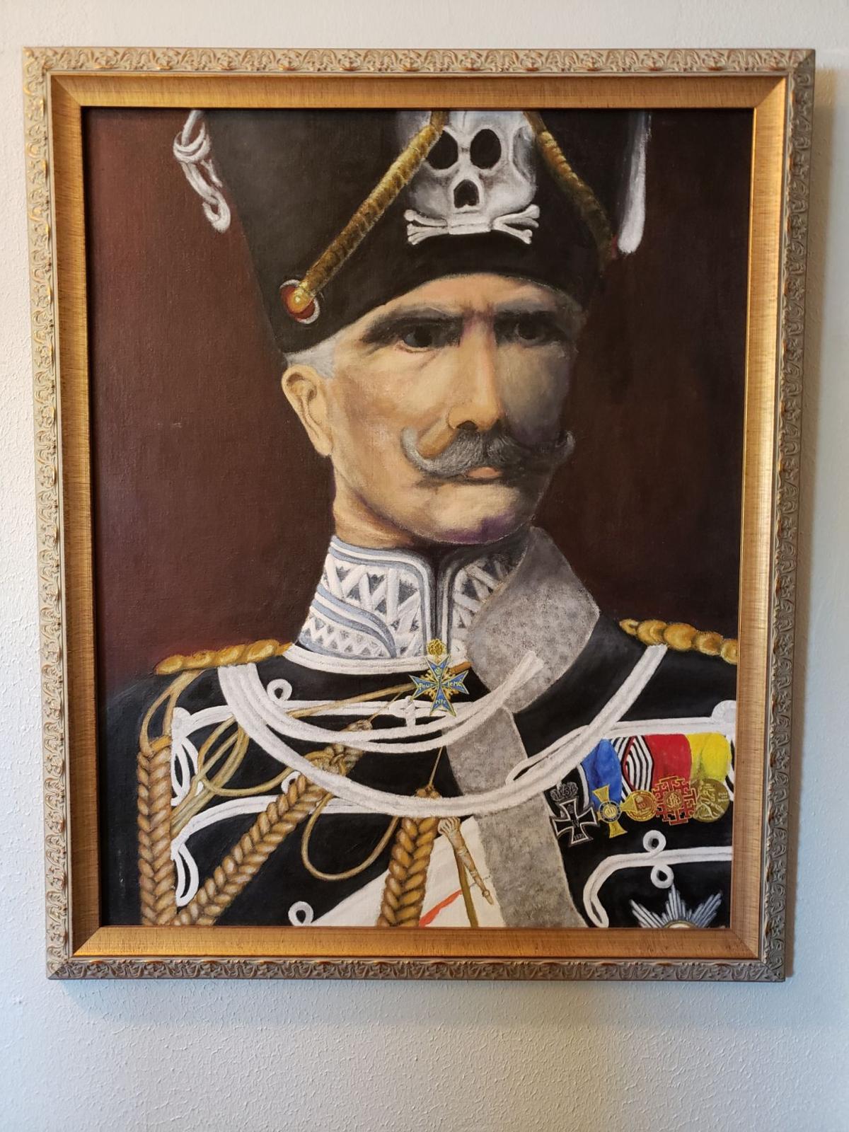 Portrait of August Von Mackensen by Daniel Shoop