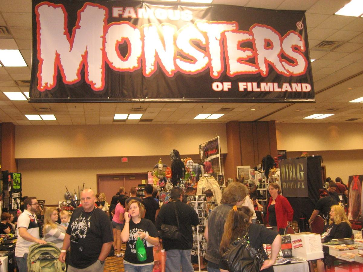 The Famous Monsters Convention log