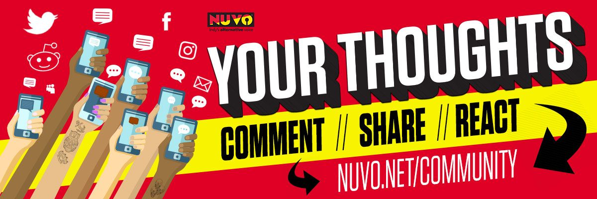 Your Thoughts NUVO's The World Table Comment Page