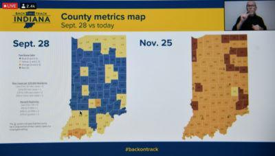 county map covid