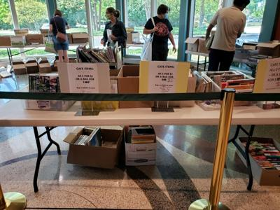 Free books during the last day of  service at the Carmel Public Library.