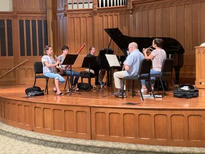 Indiana Landmarks Grand Hall is alive with music