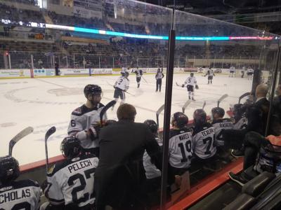 Indy Fuel hammers Wheeling Nailers at Coliseum