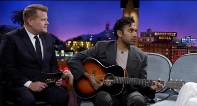 James Corden and Himesh Patel in 'Yesterday'