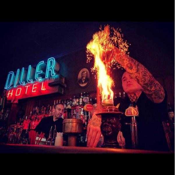 The Inferno Room will highlight the Americana history of tiki bars