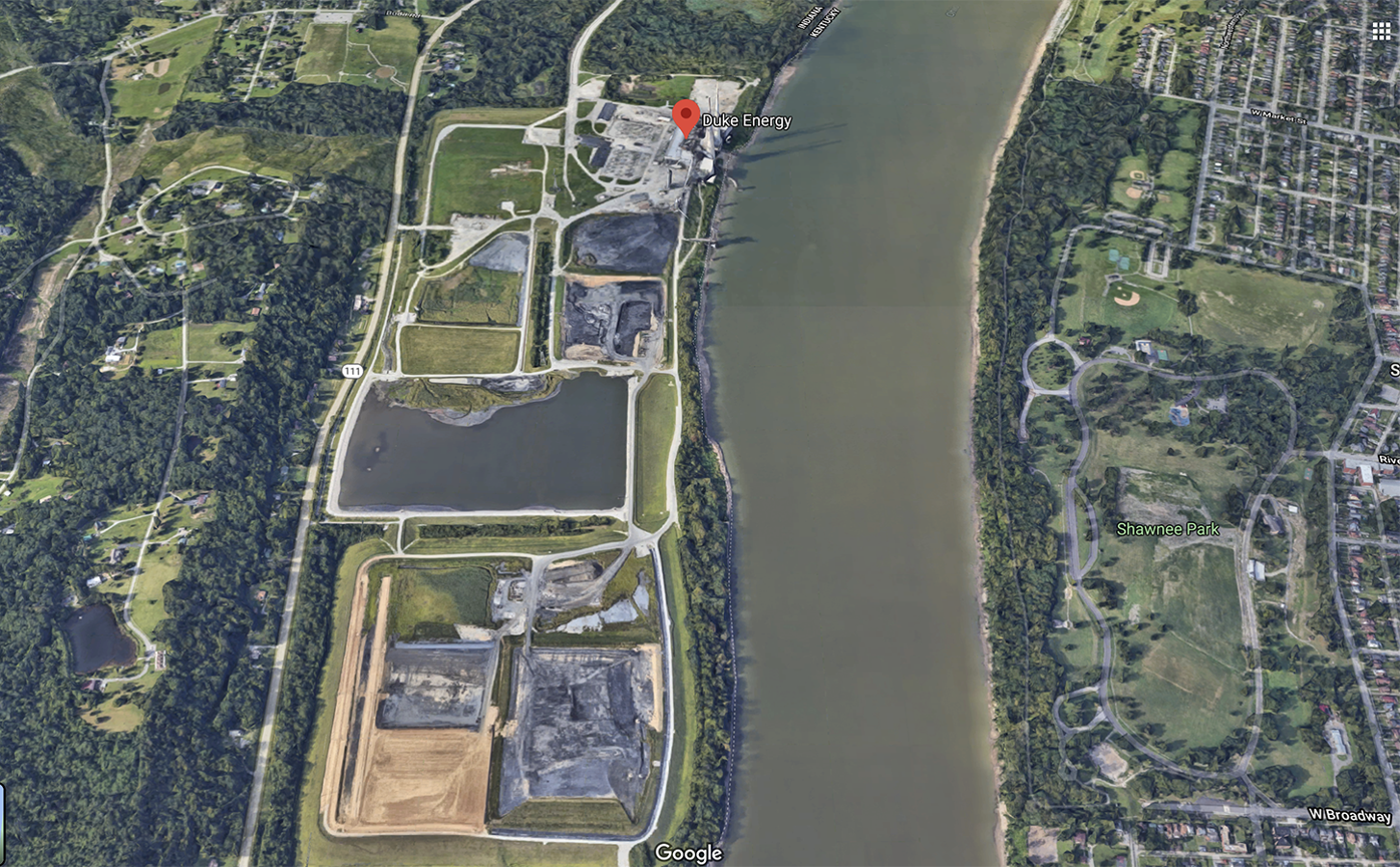Duke ownded R. Gallagher Generating Station in New Albany.png