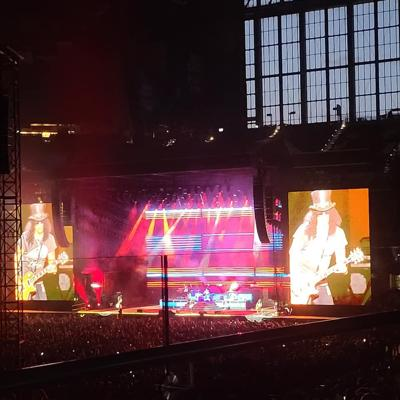 Guns n' Roses with Mammoth WVH at Lucas Oil Stadium.