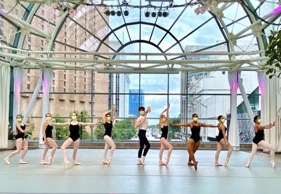 The Indianapolis ArtsGarden floated the ISB dance performance