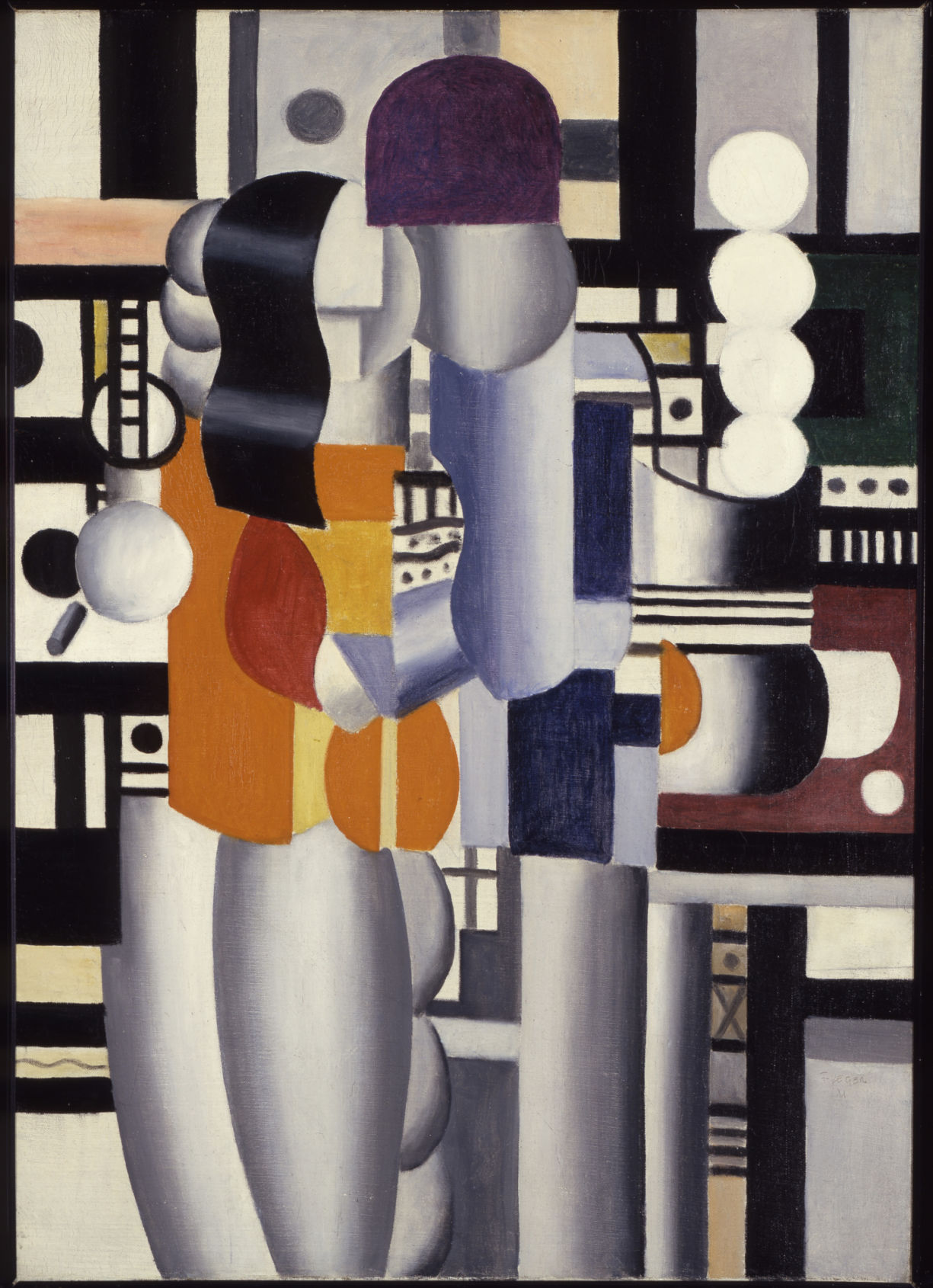 """""""Man and Woman"""" by Fernand Léger"""