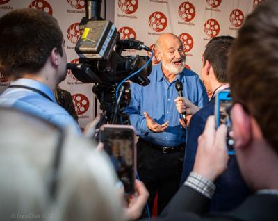 Rob Reiner on the red carpet