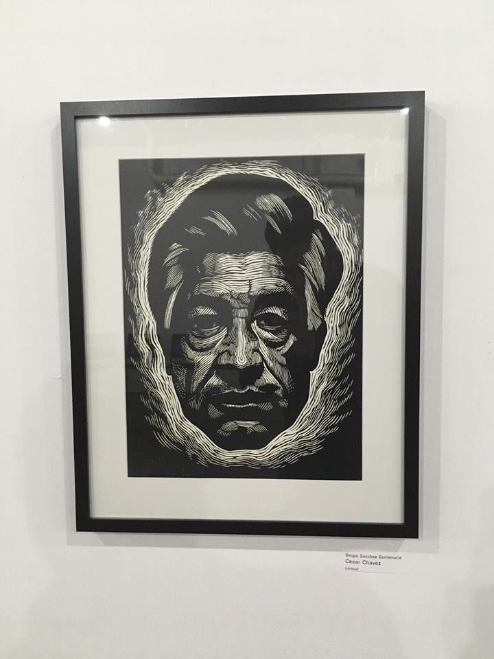 """Cesar Chavez"" by Sergio Sanchez Santamaria"