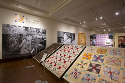 Uncovering women's stories through quilts and contemporary art