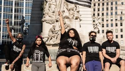 Indy's Shuē Clothing brand creates line in support of Black Lives Matter movement