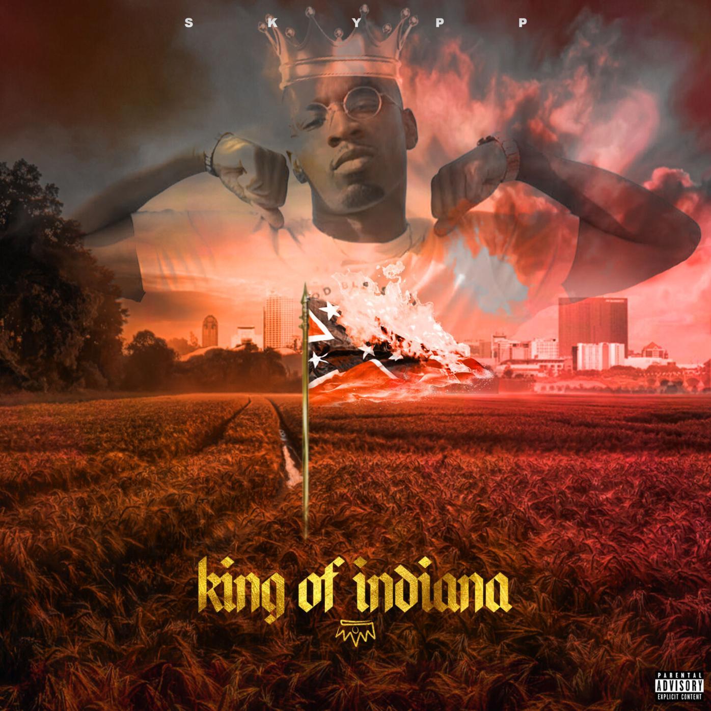 King of Indiana album art