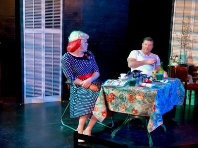 Candy Delaney (Lance Gray) and Karl (Chris Saunders)