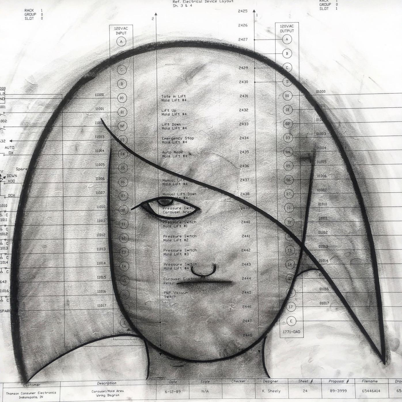Drawing by John Clark