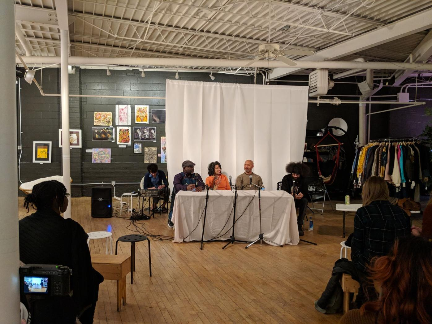 Panel discussion moderated by Justin Brown