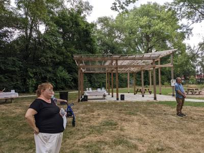 Savoring neighborhood ground up: Shelton Heights Park sparks creative caring