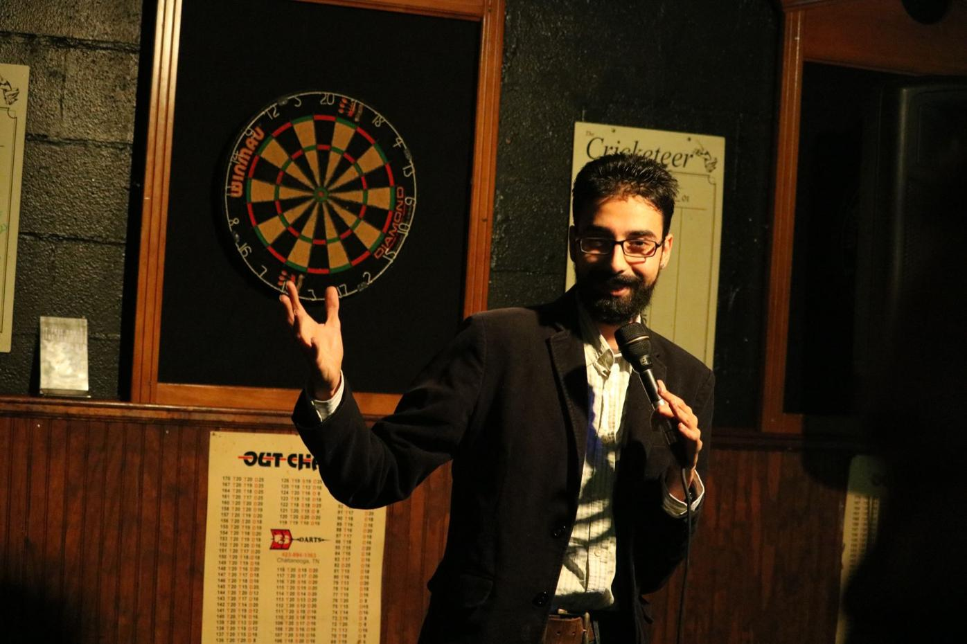 Krish Mohan's comedy tackles race, religion and immigration