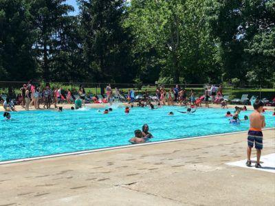Pool at Frederick Douglass Park