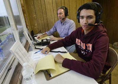 Finding his voice: Central student gaining valuable air time on local sports broadcasts