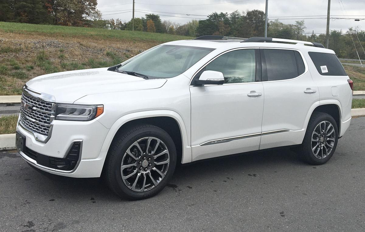 Tom Crosby: GMC Acadia SUV adds improvements for 2020 ...