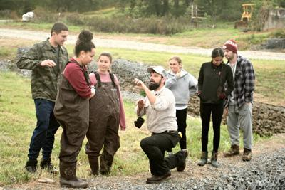 Virginia Tech students get hands-on experience at Burnshire Dam