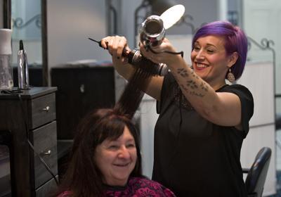 Woodstock salon celebrates a decade