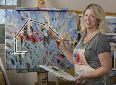 'Barns of Shenandoah County': Artist aims to save local history with her paintings of historic barns