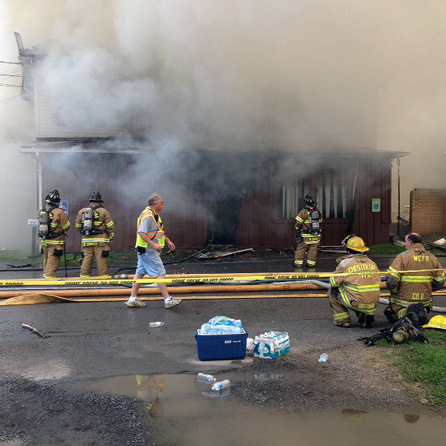 NVDaily Update: Firefighters battle fire at VFW