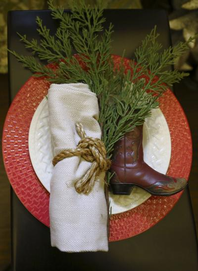Add festive table decorations this holiday season