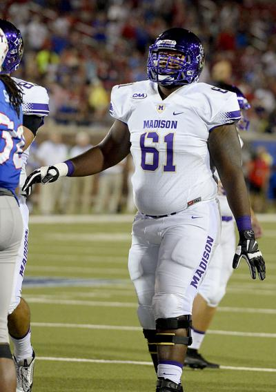Bolden leading way for Dukes' offensive line
