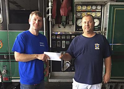 Masco Cabinetry makes donation to Mount Jackson Resue & Fire