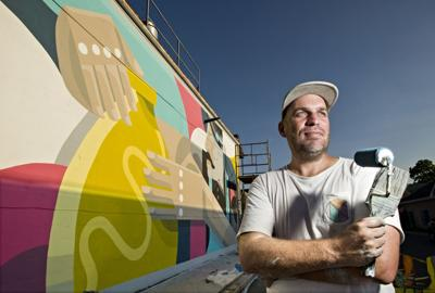In latest Strasburg mural, South African artist focuses on Pot Town history
