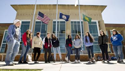 Central students join national walkout