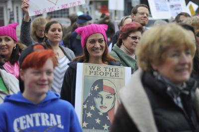 Area residents gather for 'sister march'
