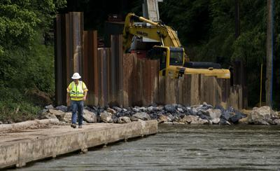 Work begins on new Morgan Ford bridge
